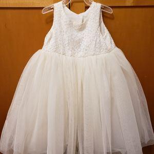 2T flower girl dress